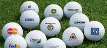 Description: logo golf balls and personalized golf balls